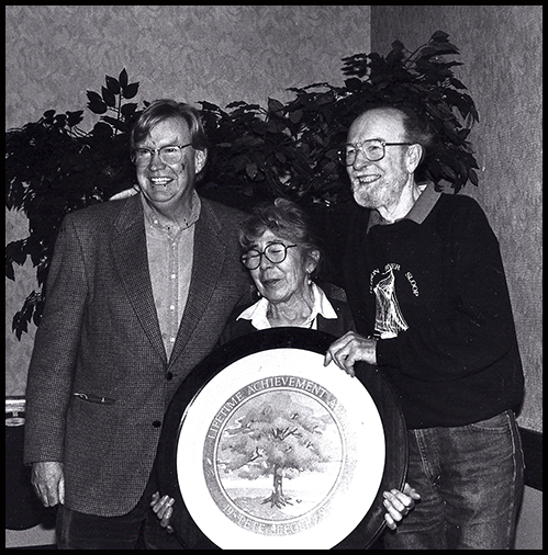 w/ Pete and Toshi Seeger