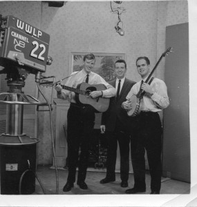Playing a Boston TV show (1960)