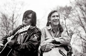 Steve Earle and Townes Van Zandt